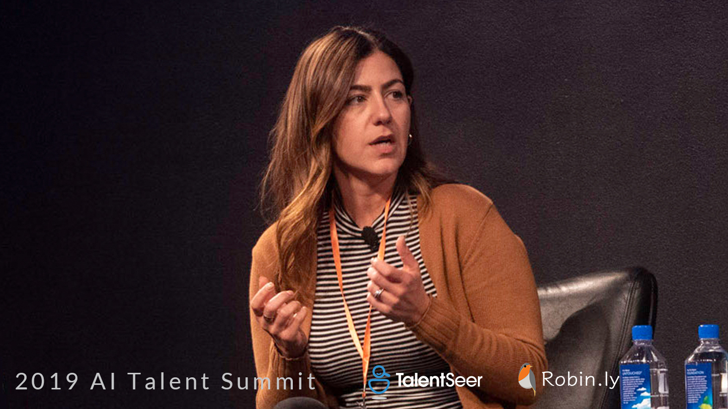 Georgina Salamy, Director of Talent @ Zoox, 2019 AI Talent Summit - Diversity in AI & Big Data - TalentSeer