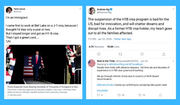 Tech Industry Criticizes Trump Freezing H-1B Visas by Executive Order_TalentSeer AI Talent News