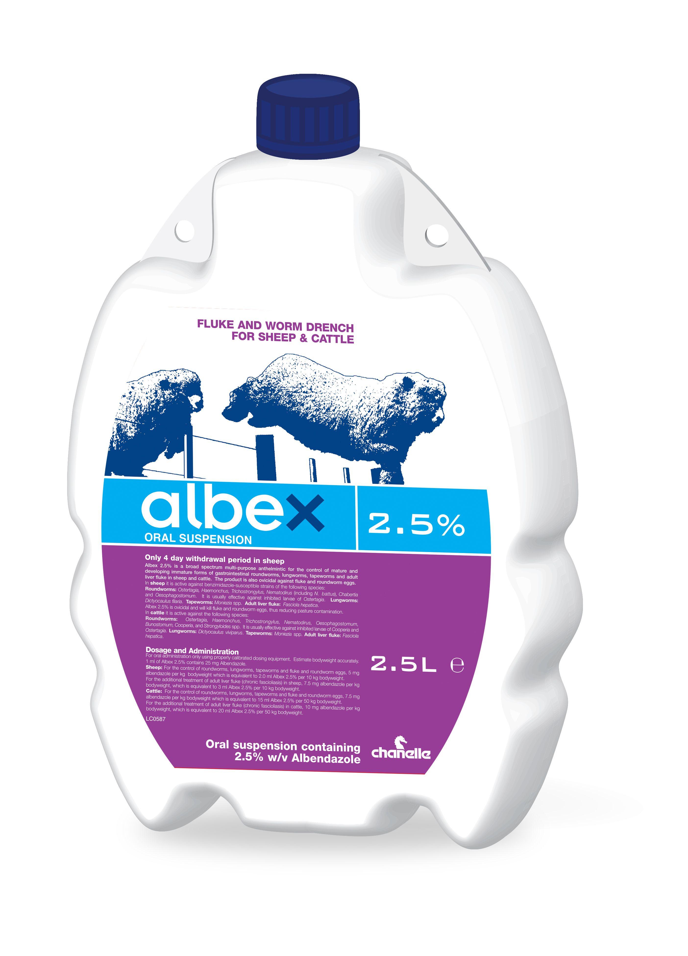 Albex 2.5%