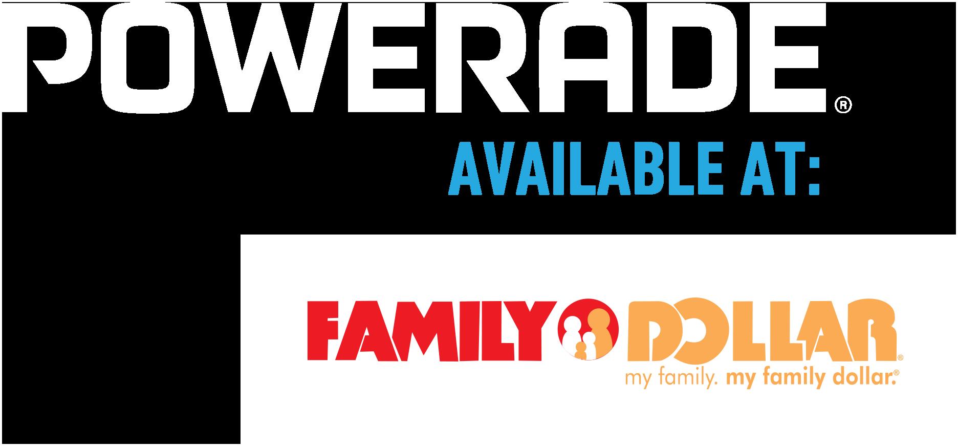 Powerade® Available at Walmart