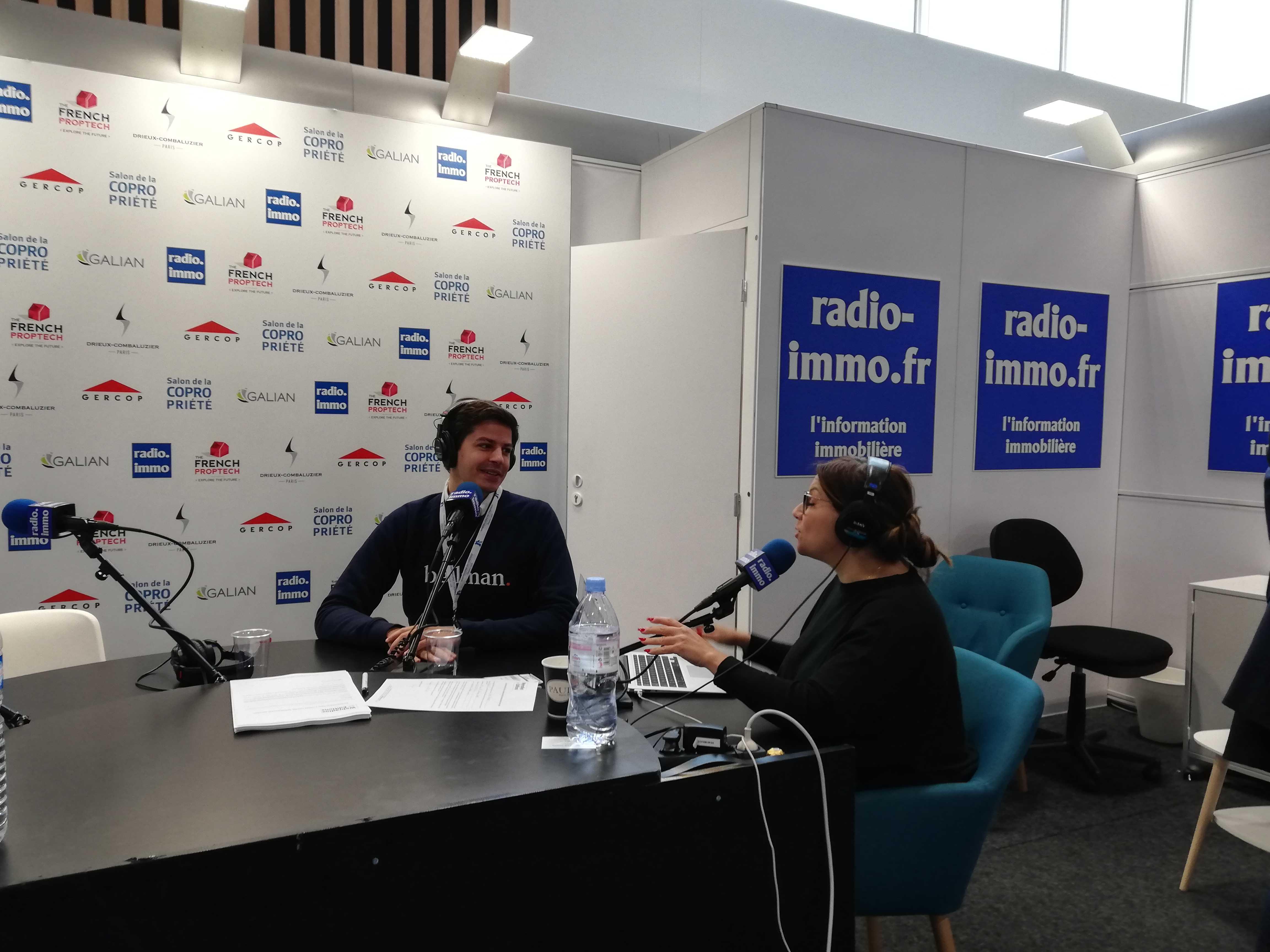 Bellman sur Radio Immo - Salon de la Copropriété 2019