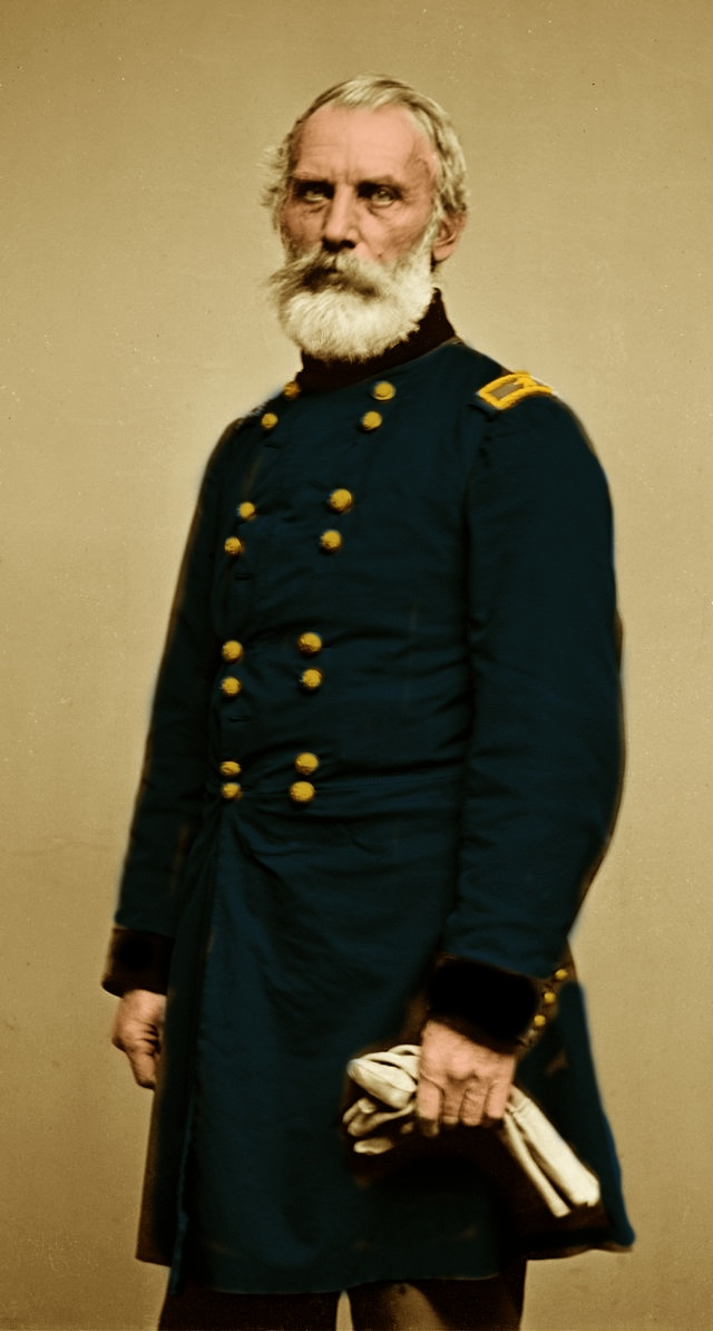 John Joseph Abercrombie (Paternal 4x great Grandfather)• 1st US Infantry• 7th US Infantry (Union Army)• Brigadier General, O-7• Served from 1822 to 1869• Father-in-law is Maj. Gen. Robert Patterson• 1798-1877