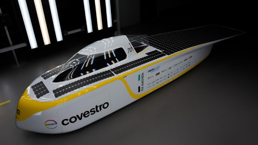The new Covestro Sonnenwagen