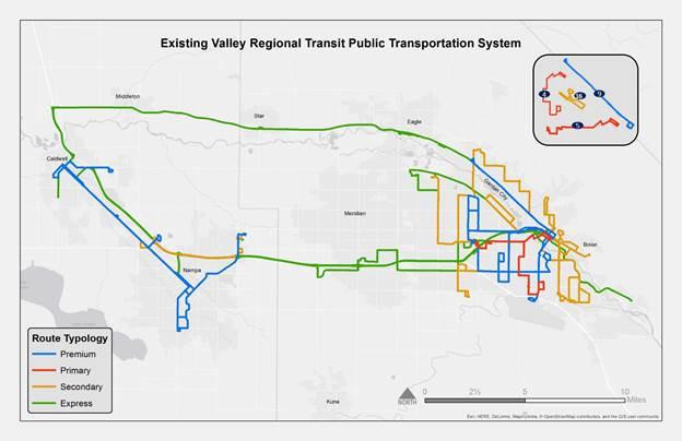 existing regional valley transit
