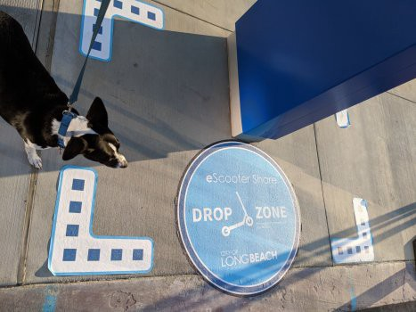 scooter drop zone