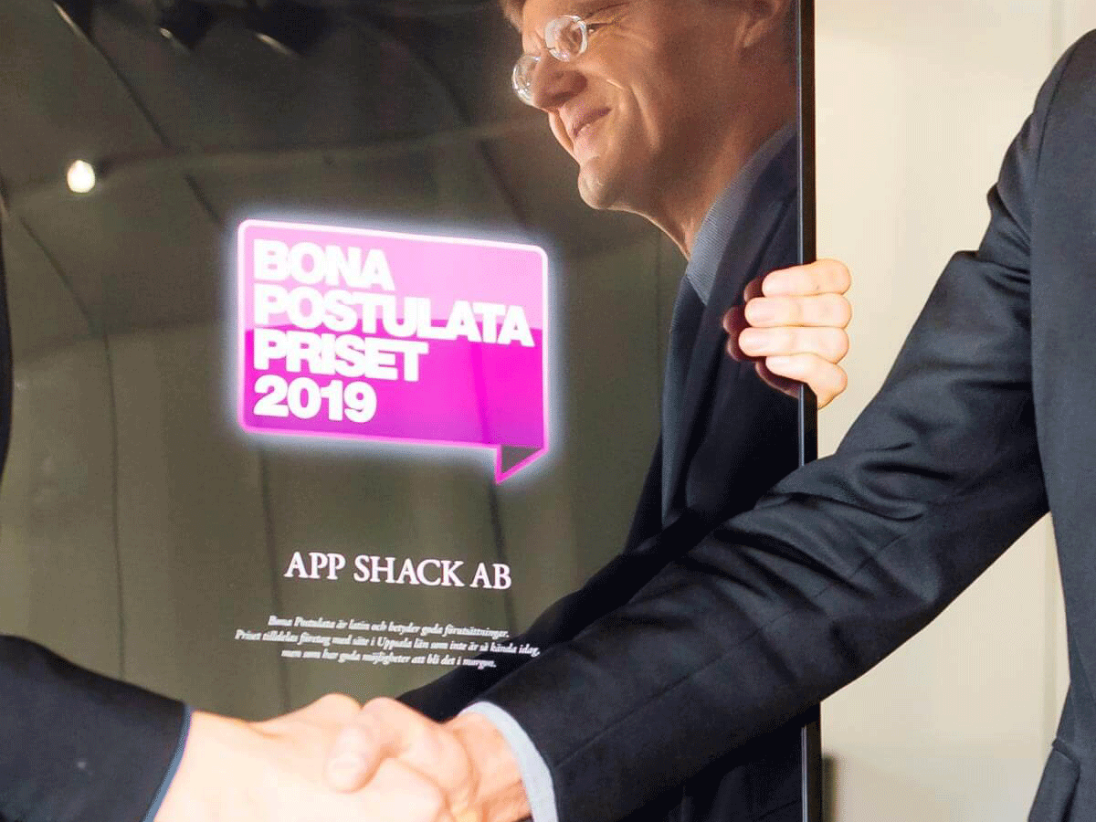 App Shack among the winners of 2019's Bona Postulata Award
