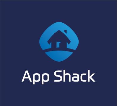 App Shack logo - dark blue