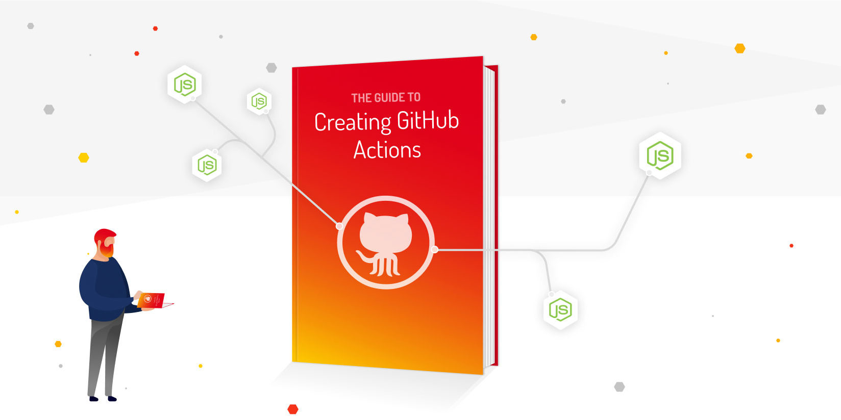 Write GitHub Actions using Node.js for git workflow automation