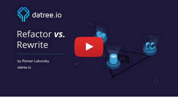 Refactor vs. Rewrite