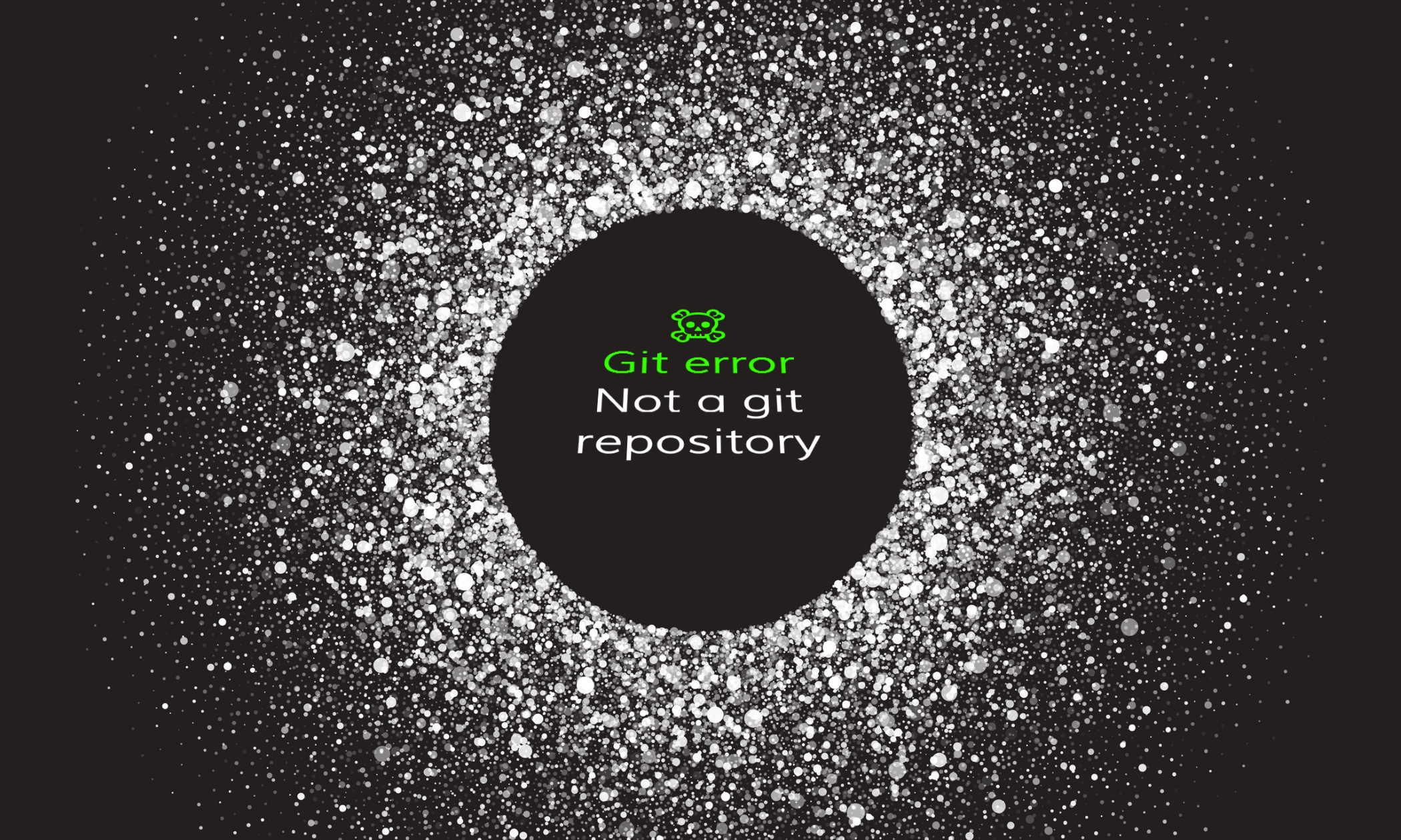 Git error - Fatal: Not a git repository