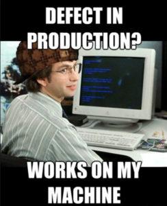 Defect in Production Meme
