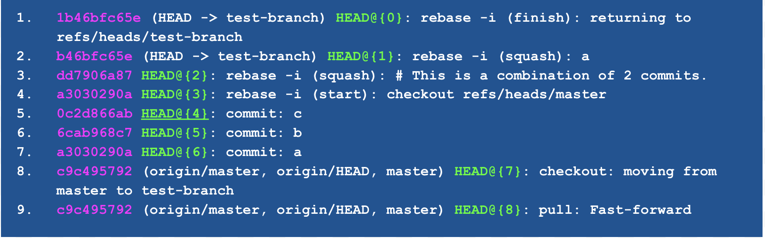 Head Test Branch Screenshot