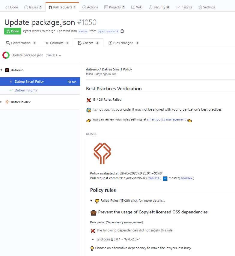 Update package.json