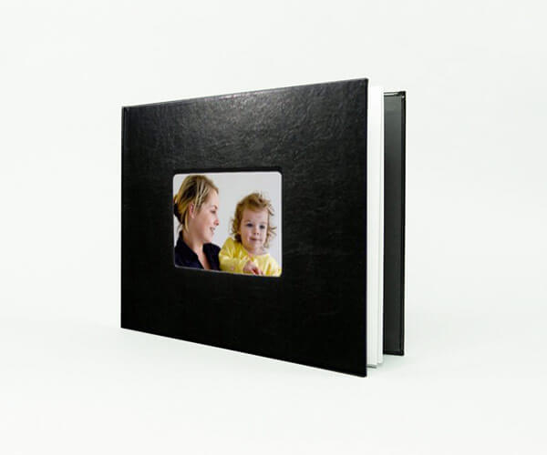 LEATHER COVER PHOTO BOOK