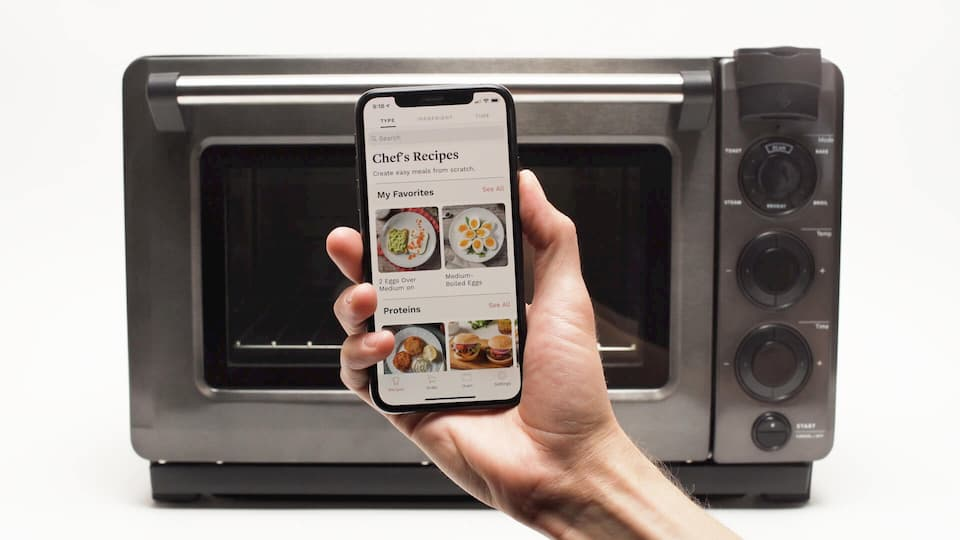 Tovala Smart Oven - Recipe library
