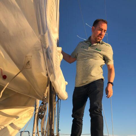 Sail on Lake Michigan