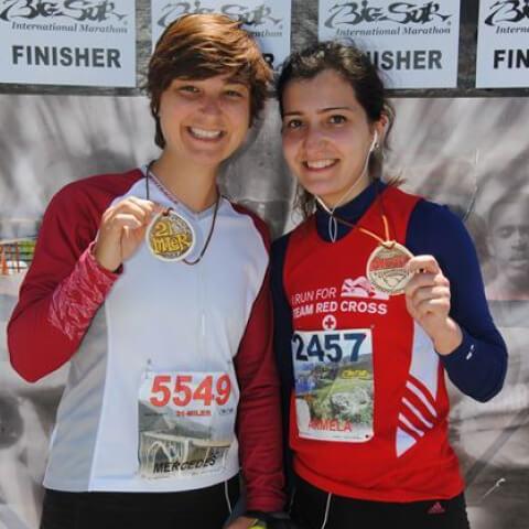 Run marathons