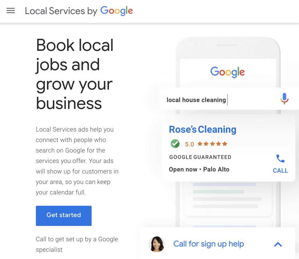 Google local services are why you should avoid thumbtack and home advisor