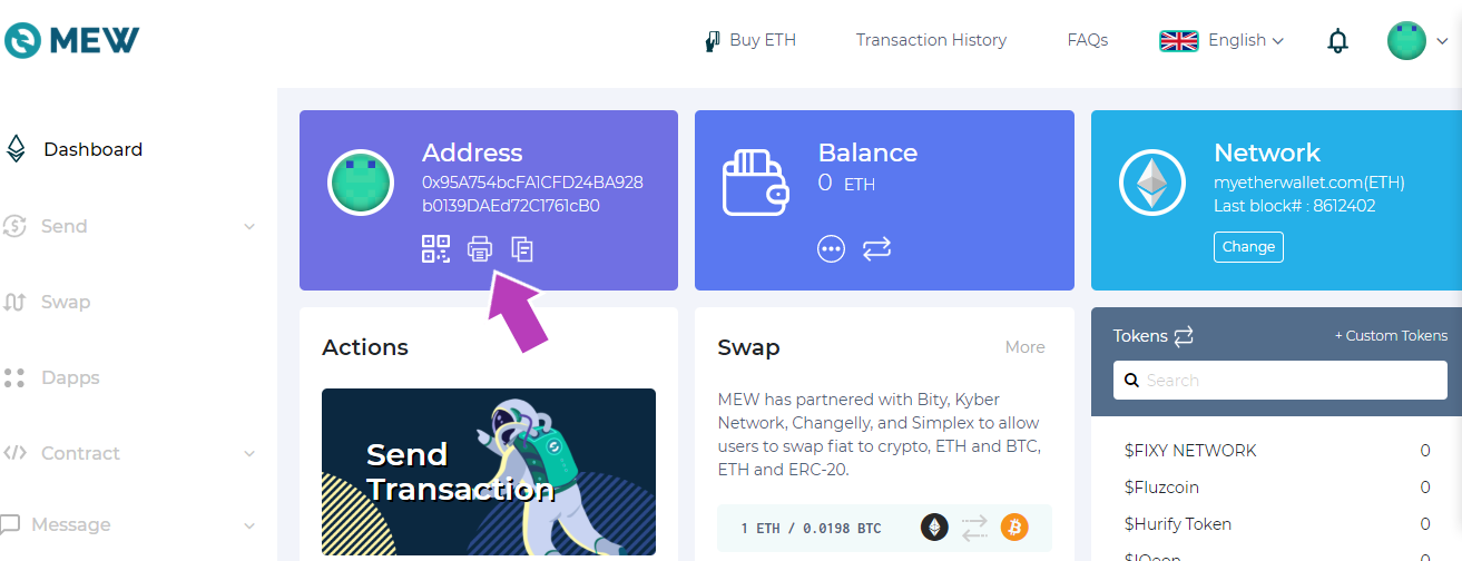 Ethereum Paper Wallet how to