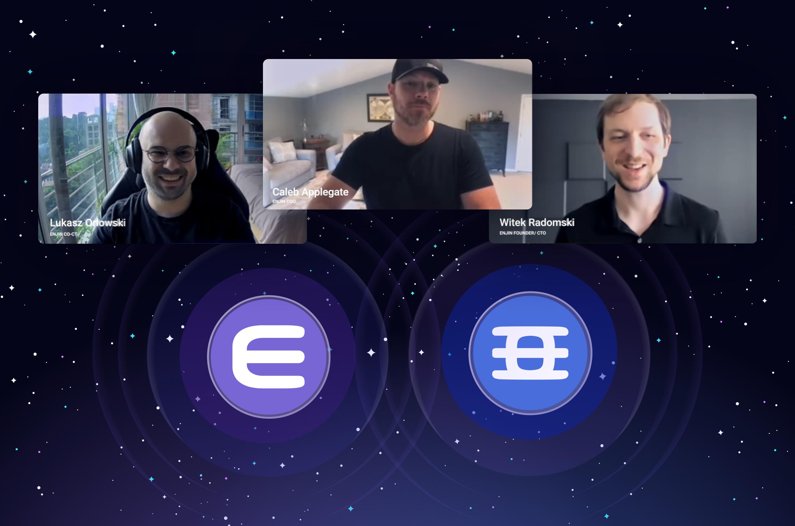Vlog del Ecosistema Enjin, Episodio Uno: Lanzamiento del Token EFI, Estándar Paratoken y Transacción por lotes de Efinity