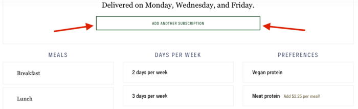 add another subscription