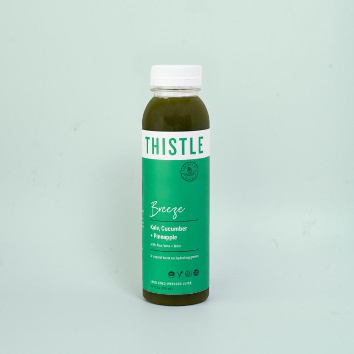 thistle breeze juice