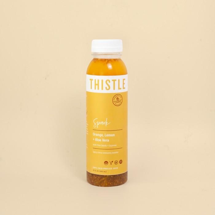 thistle spark juice