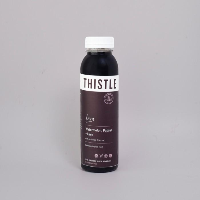 thistle lava juice