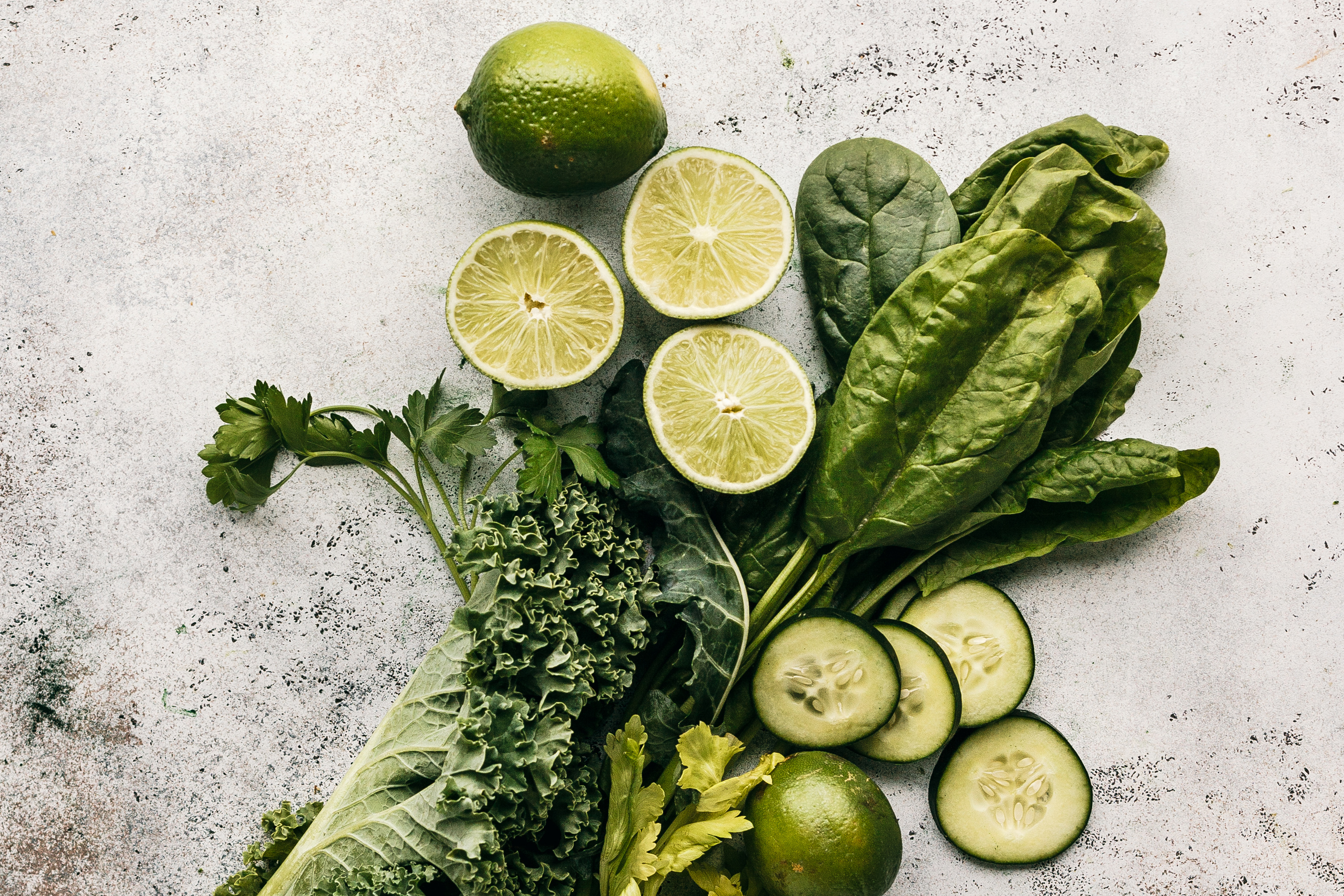 The key to a nutritious juice is including raw foods, fresh fruits, and some leafy greens.