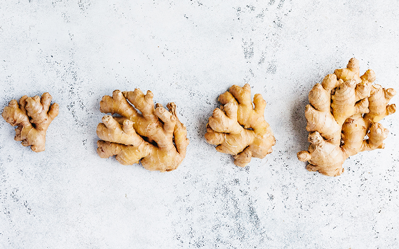 Ginger is another immunity boosting food because it has a lot of minerals such as magnesium, iron, zinc, and calcium in it.