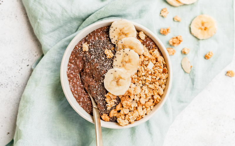 Many of Thistle's recipes include chia seeds, including our chia seed pudding and many of our delicious smoothies.