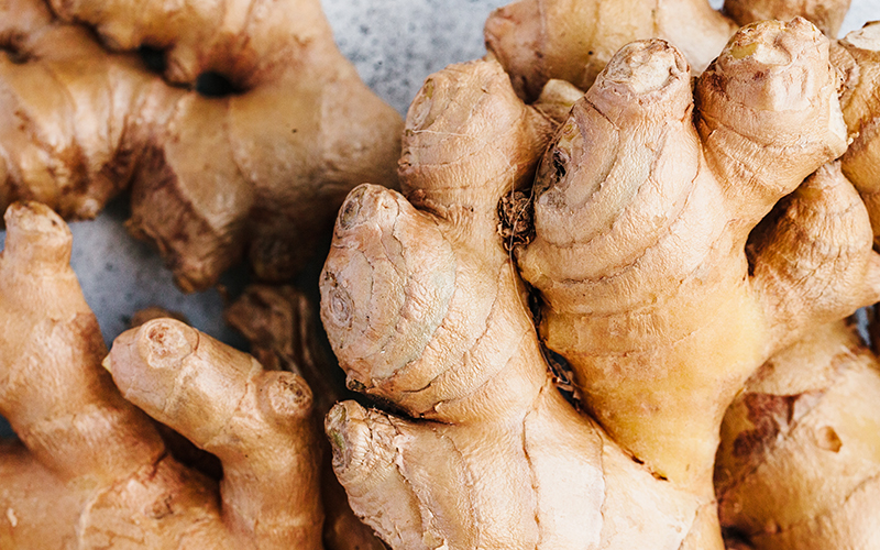 Ginger has many health benefits for your body, making it one of the best detox foods around.