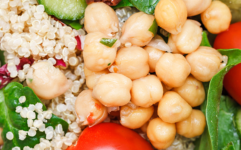 Chickpeas, one of the best immune boosting foods, helps your body produce red blood cells and iron.