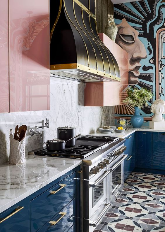Kitchen of the Year - Michelle Nussbaumer's Dallas Home Has 4 Amazing Kitchens