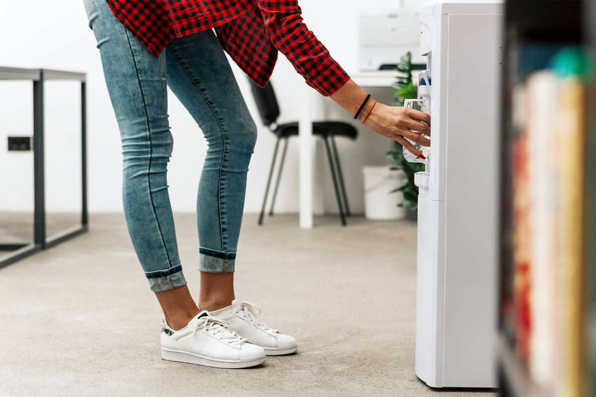 water cooler vs water fountain page image
