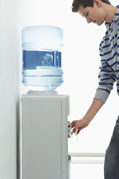 water cooler supporting