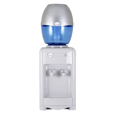 Waterlux Top Filled Bottled Water Cooler Chilled & Ambient Bench Mounted