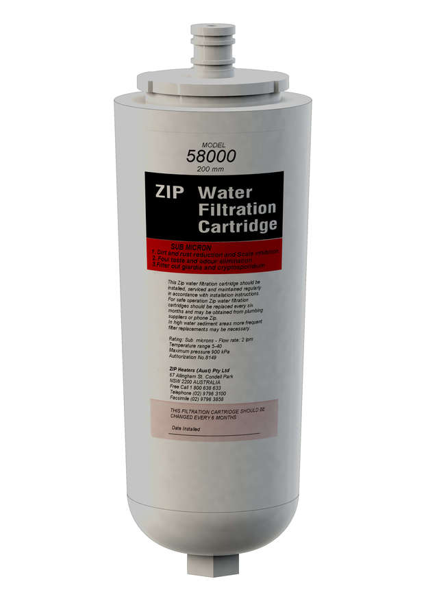 Zip Sub Micron Triple Action Replacement Filter 58000