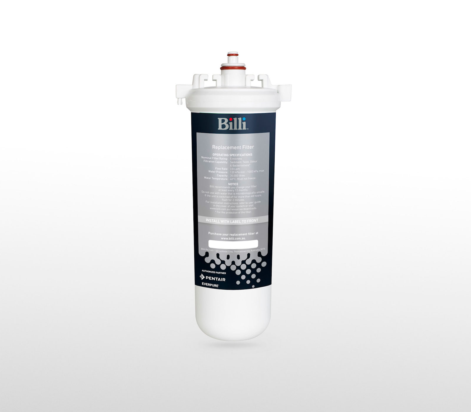 Billi 994004 HSD 10 micron Replacement Filter Cartridge