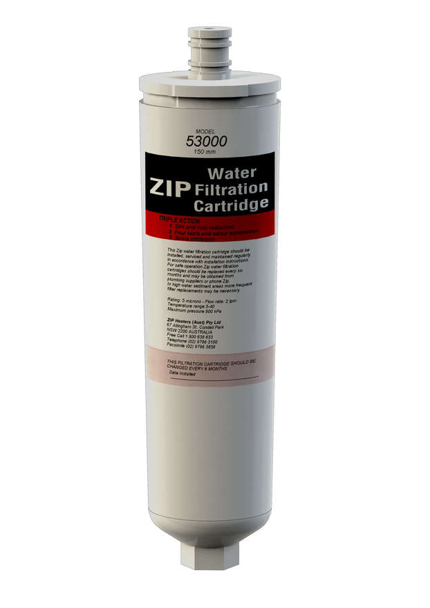 Zip 5 Micron Triple Action 150mm Replacement Filter 53000
