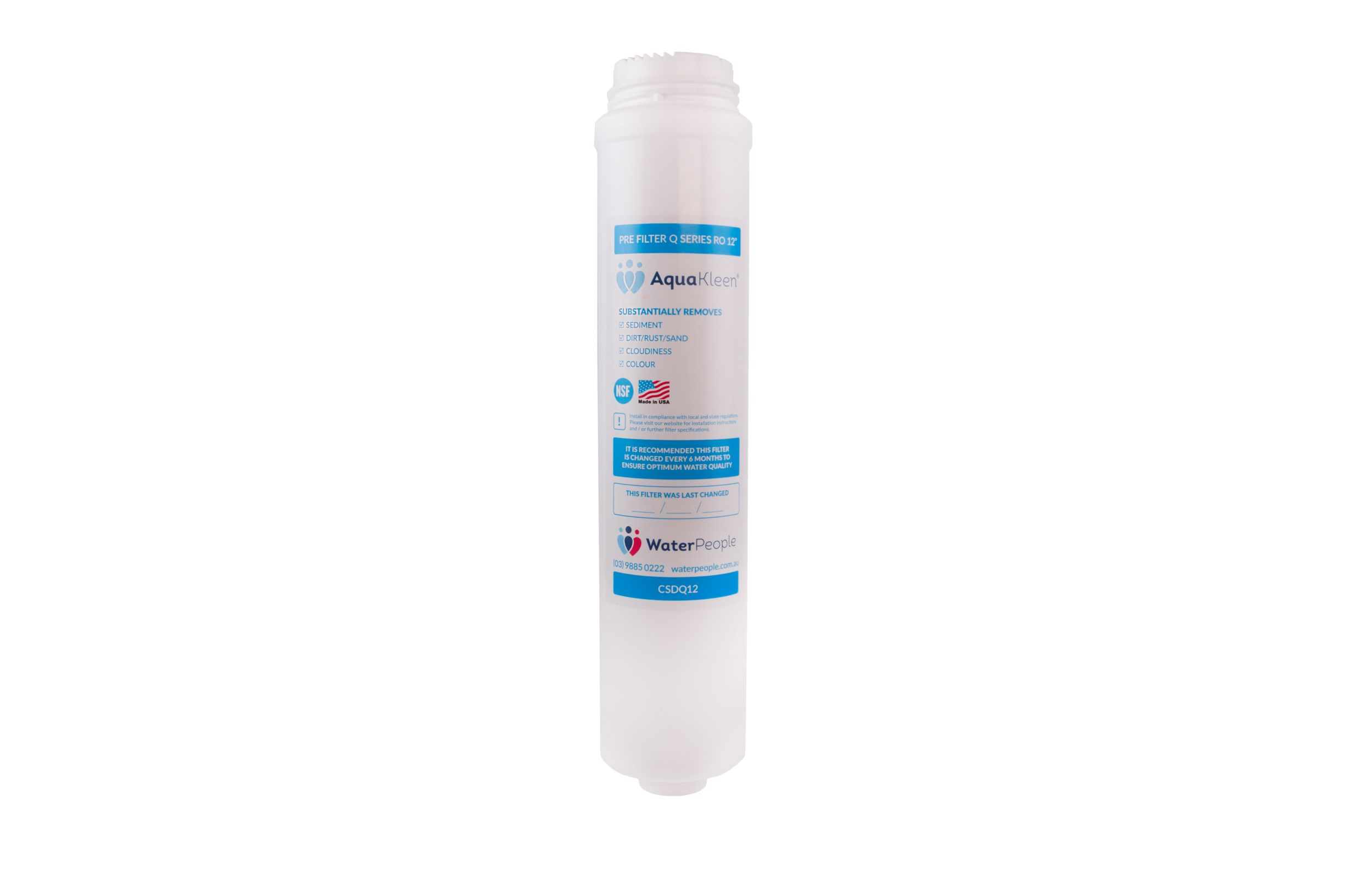 Aquakleen Q Series Sediment Pre Filter 12""