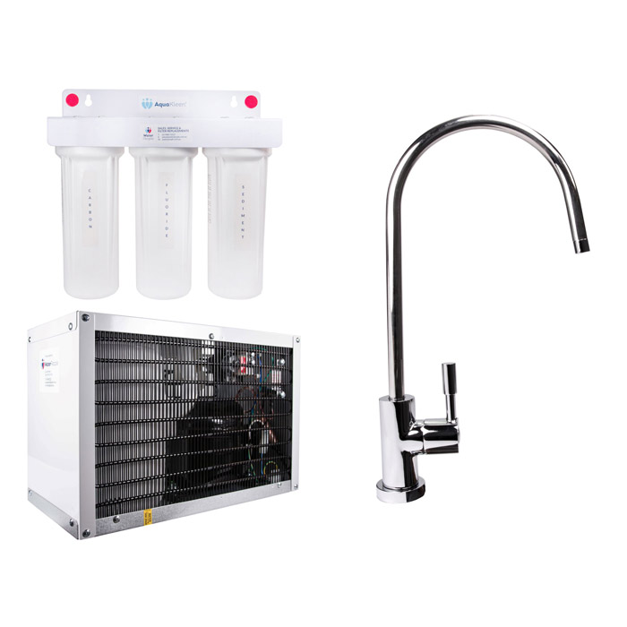 Waterlux 8 Litre Micro Chiller Water Filter System