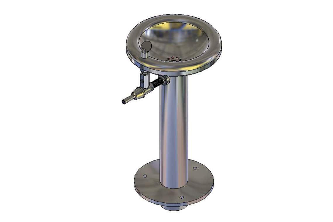 Enware Pedestal Outdoor Drinking Fountain - Junior Size