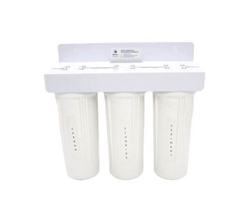 Aquakleen Triple Fluoride And Virus Plus Filter System