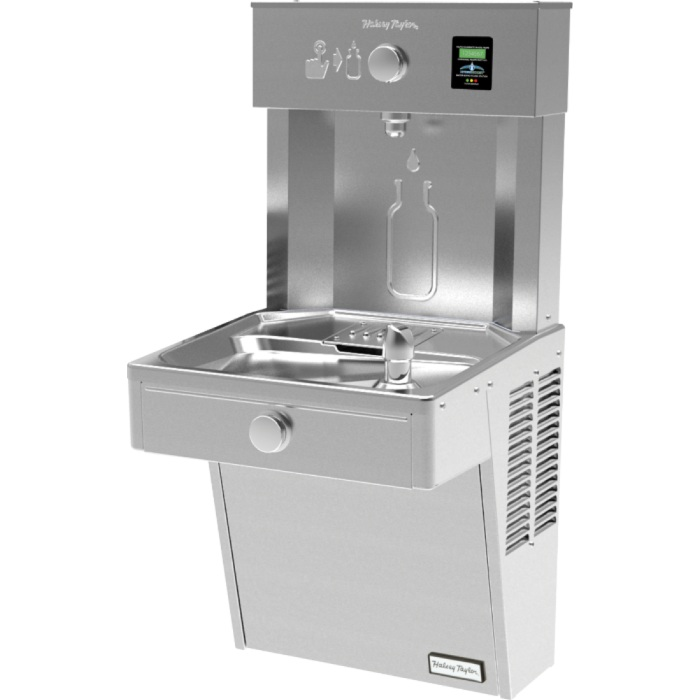 Halsey Taylor HydroBoost Wall Mounted Drinking Fountain & Bottle Filling Station - Vandal Resistant