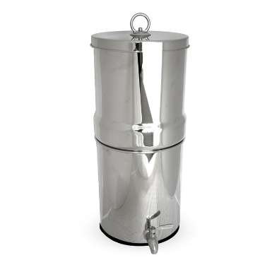 Counter Top 12 Litre Stainless Steel Water Filter System