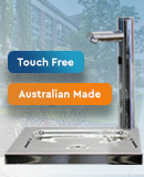 New Touch Free Drinking Fountain Convertor
