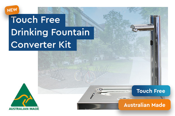 Touch Free Drinking Fountain Converter