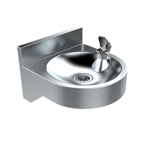 Britex Wall Mounted Drinking Fountain - Compact