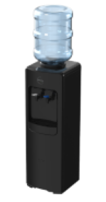NEW Waterlux Top Filled Bottled Water Cooler Chilled & Hot Floor Standing - B26CH